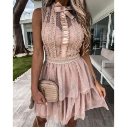 Pre-order Dress Lace Nude
